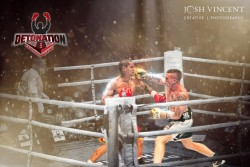 Detonation Boxing Will Sands Blake Minto knockout punch